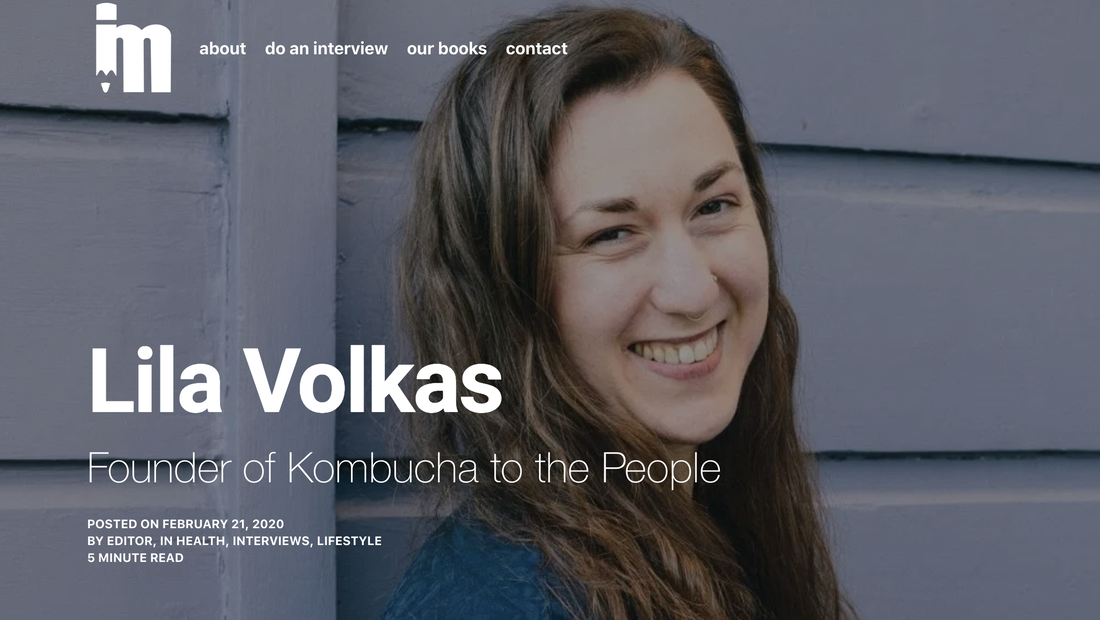 Image of Lila Volkas in an article published in IdeaMensch