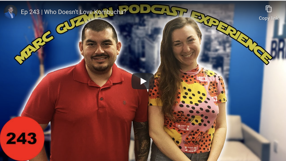 Lila Volkas and Marc Guzman for the Mark Guzman Podcast Experience